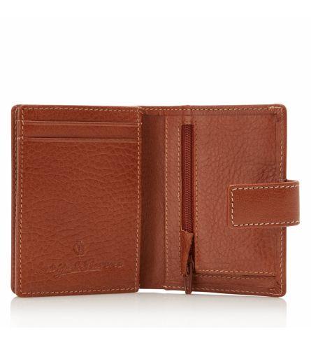 Castelijn & Beerens Nova Mini Brieftasche Hellbraun