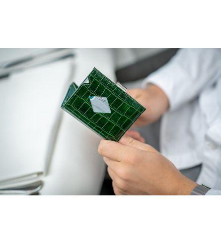 Exentri Wallet Caiman Green Casual Wallet