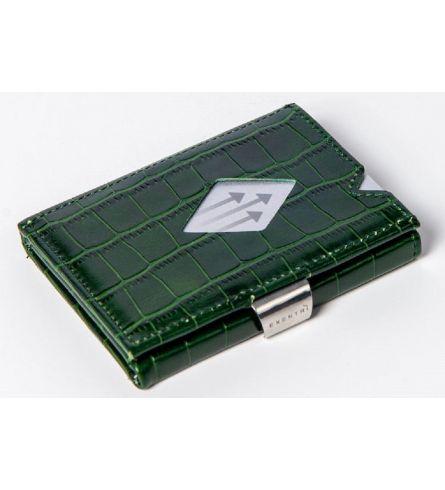 Exentri Wallet Caiman Green RFID Wallet