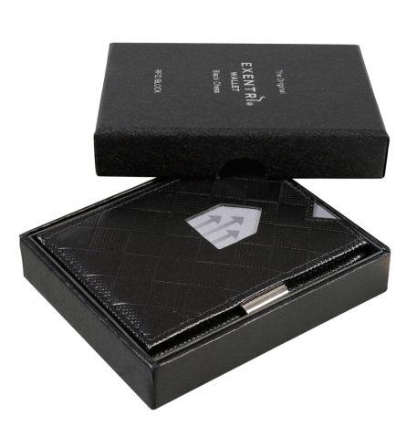 Exentri Wallet RFID Chess Black