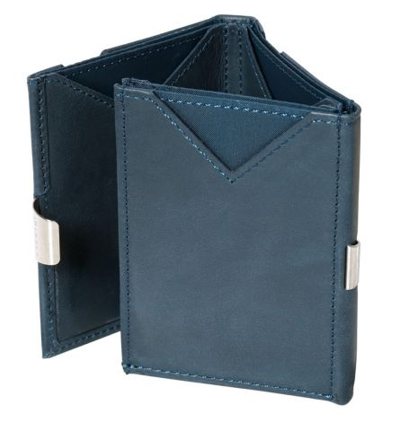 Exentri RFID Wallet Blue Trifold Wallet