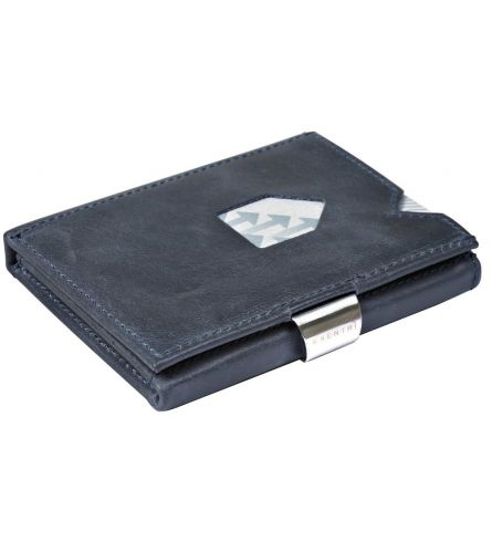 Exentri RFID Wallet Blue Trifold