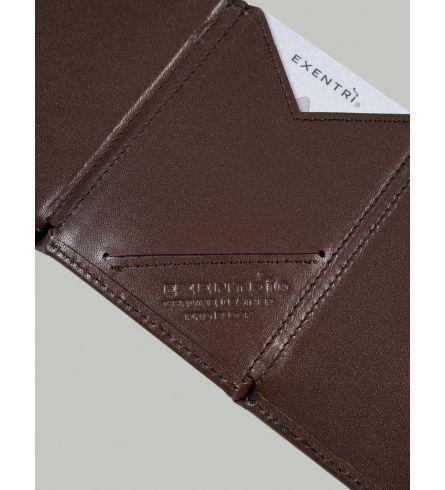 Exentri RFID Wallet Brown Design Wallet