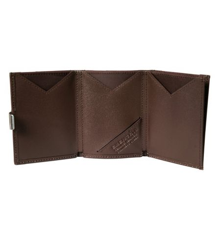 Exentri RFID Wallet Brown Leather Wallet