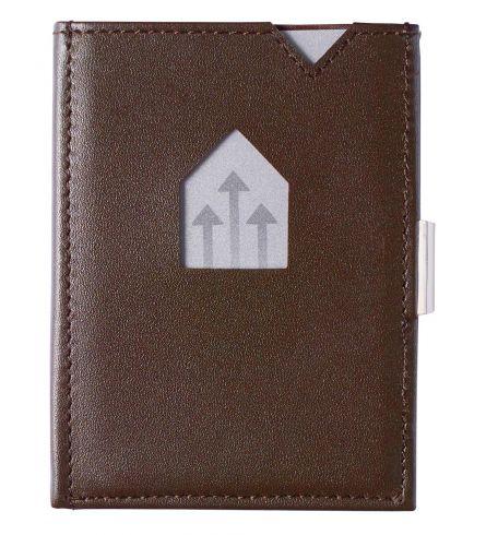 Exentri RFID Wallet Brown