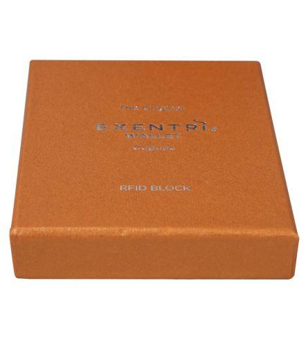 Exentri Wallet RFID Cognac Smart Wallet