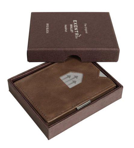 Exentri Wallet RFID Hazelnut Trifold