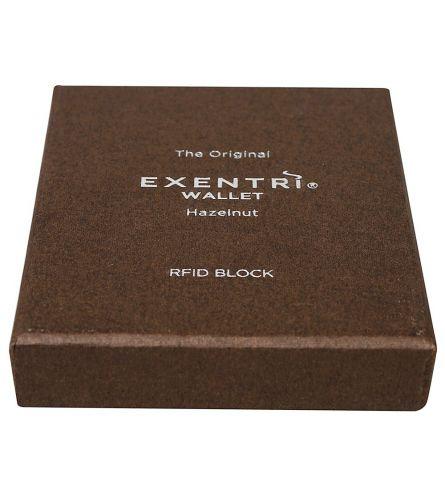 Exentri Wallet RFID Hazelnut Billfold Wallet