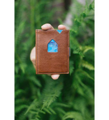 Exentri Wallet RFID Hazelnut Elegant Wallet