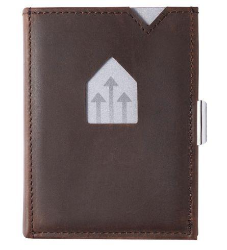Exentri Wallet RFID Nubuck Brown