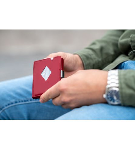Exentri Wallet RFID Red Fashion Wallet