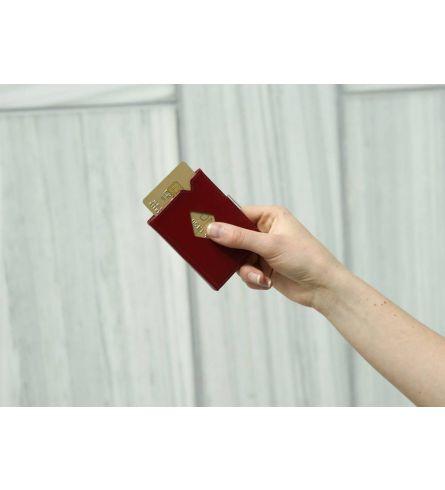 Exentri Wallet RFID Red Design Wallet